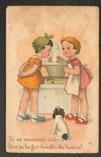 ENFANTS en CUISINE / APPRENTI CUISINIERE / LES HUITRES BOUILLIES