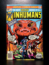COMICS: Marvel: The Inhumans #7 (1976) - RARE (avengers/thor/fantastic four)