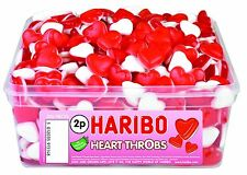 HARIBO SWEETS - Heart Throbs 300 Per Tub