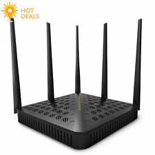 Tenda Fh1202 1200mbps Dual-speed Wireless Wifi Router,2.4ghz,5ghz,5 5dbi Antenna