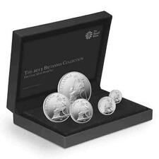 New 2013 UK GB Silver Britannia 5 x Coin Proof Set (with Presentation box & COA)