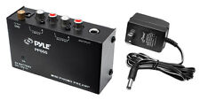 Pyle Ultra Compact Phono Turntable Pre-Amplifier w/ 9 V Battery Compartment