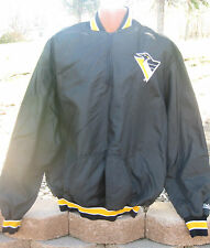 Vintage NFL 1970's Stahl-Urban PITTSBURGH STEELERS Satin Starter Style Jacket