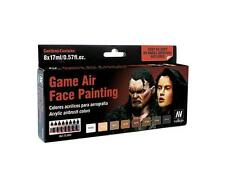 Vallejo Game Color: Game Air Set 17 ml: Face Painting (by Angel Giraldez)