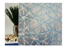 """Privacy Web Blue Static Cling Window Film, 36"""" Wide x 10 ft"""