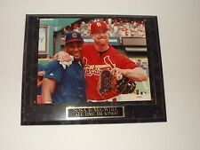 SAMMY SOSA & MARK McGWIRE-MLB All Time Home Run Kings Photo Plaque
