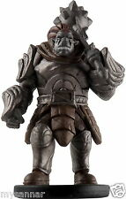 D&D mini OROG ORC FIGHTER (Greater) TOD Dungeons & Dragons Pathfinder Miniature