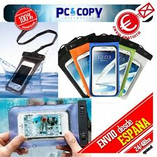 Funda PVC Bolsa Estanca, Impermeable, Sumergible Para móvil camara ipod iphone