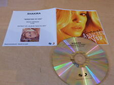 SHAKIRA - ADDICTED TRO YOU !!!FRENCH DJ PROMO CD