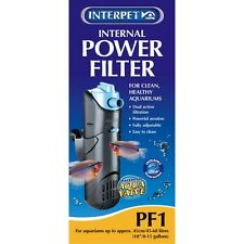 Interpet PF1 Internal Power Filter Tropical Fish Tank Coldwater Marine Fish