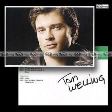 TOM WELLING Carte-fiche - Smallville #150