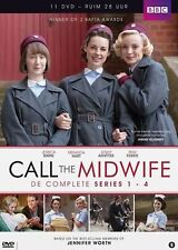 Call the Midwife Complete Series 1 2 3 - 4 DVD Box Set New Original UK Comp. R2
