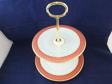 Wedgwood Queen of hearts two Tier Cake Stand.