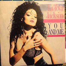 LA TOYA JACKSON • You And Me • Vinile 45 Giri • 1990 Ricordi