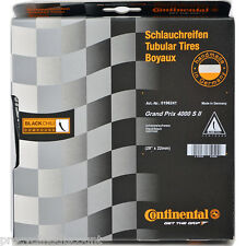 "NEW 2016 CONTINENTAL GRAND PRIX 4000S II Tubular Tire Black Chili 28"" 700x22"
