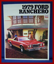 1979 Ford RANCHERO Luxury Pickup Truck Car Brochure - NOS Mint Condition