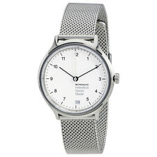 Mondaine Helvetica No1 Regular White Dial Ladies Watch MH1.R1210.SM