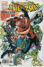 AMAZING SPIDER-MAN 500 signed BY  J SCOTT CAMPBELL VF MARVEL MARY JANE