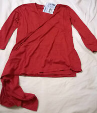 BNWT Jojo Maman Bebe small (8-10) maternity wrap top red