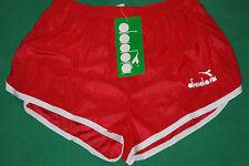vintage shiny glanz satin diadora shorts retro 70s 80s tags boxed NOS borg RUN 4