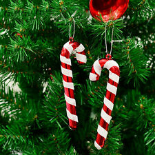 Christmas Candy Cane Ornaments Party Xmas Tree Hanging Decoration Hot 12X