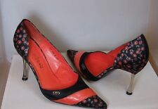 Ladies Red or Dead Shoes, Black & Red, Size 6 Stileto
