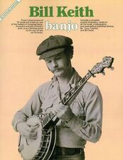 Bluegrass Masters Bill Keith Learn to Play Banjo Tunes Breaks Music Book