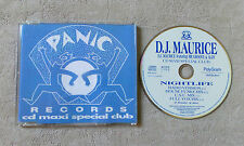 "CD AUDIO INT/ DJ MAURICE FEAT MR. GROOVE & ALDY ""NIGHTLIFE "" CD MAXI 861 551-2"