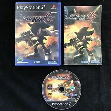 PS2 Shadow The Hedgehog Sonic OVP Sony Playstation 2 #PS2#00156