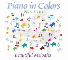 Piano in Colors David Rivera Audio CD
