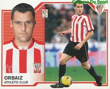 ORBAIZ ESPANA ATHLETIC CLUB STICKER LIGA ESTE 2008 PANINI