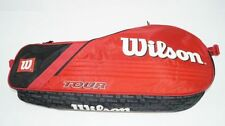 *NEU*Wilson Tour 3 Pack red Tennistasche 3er classic pro rot schwarz holder new