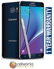 NEW Samsung Galaxy Note 5 ( Sprint ) N920P 32GB Black Sapphire CLEAN IMEI 4G LTE