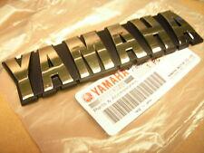 ORIGINAL YAMAHA TANK SCHRIFTZUG GOLD EMBLEM BADGE SR500 XS650 STICKER AUFKLEBER