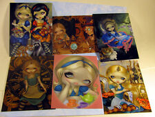Jasmine Becket-Griffith art steampunk Alice in Wonderland Set of 6 Postcards