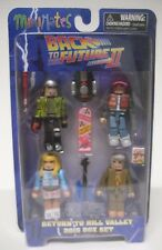 Minimates Back to the Future II Return to Hill Valley 2015 Box Set Minifigs NEW