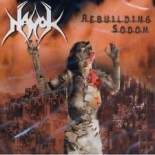 "Havok ""Rebuilding Sodom"" CD [BRUTAL DEATH/THRASH FROM SOUTHGERMANY]"