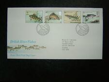 1983 BRITISH RIVER FISH ROYAL MAIL FDC & BUREAU SHS CV £4