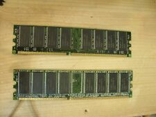 2gb = 2 X 1Gb PC3200 MEMORY DDR DESKTOP RAM emachines W3118 W3115 W3105 W3052