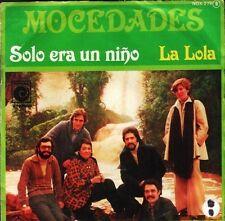 """MOCEDADES solo era un ninola lola NOX 279 spanish novola 7"""" PS VG/VG"""
