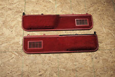 1988 89 1990 1991 FORD F150 F350 F250 XLT Truck/Bronco Red Lower Door Panel Trim