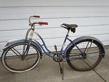 VINTAGE X EXCELSIOR ARNOLD SCHWINN BICYCLE + HAS RARE FENDER LIGHT