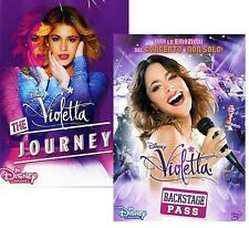 Dvd VIOLETTA - IL CONCERTO - BACKSTAGE PASS + VIOLETTA THE JOURNEY ....NUOVI
