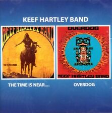 "Keef Hartley Band:  ""The Time Is Near / Overdog""  (2on1 CD Reissue)"