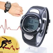 LCD Fit 3D Sport Watch Pulse Heart Rate Monitor With Pedometer Calory Counter LM