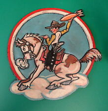 USAAF 669TH BOMBARDMENT SQUADRON LEATHER BREAST PATCH