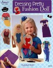 ANNIES PLASTIC CANVAS DRESSING PRETTY FASHION DOLL