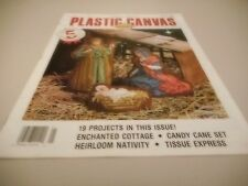 Plastic Canvas Corner Magazine, January 1994, May Be Out of Print, 19 Projects