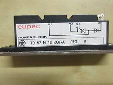 Semiconductor TD92N16KOF-A - - componente electrónico