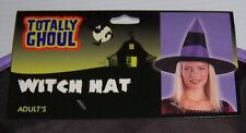 TOTALLY GHOUL  WITCH HAT HALLOWEEN COSTUME ACCESSORY ADULT SIZE OSFM NEW!